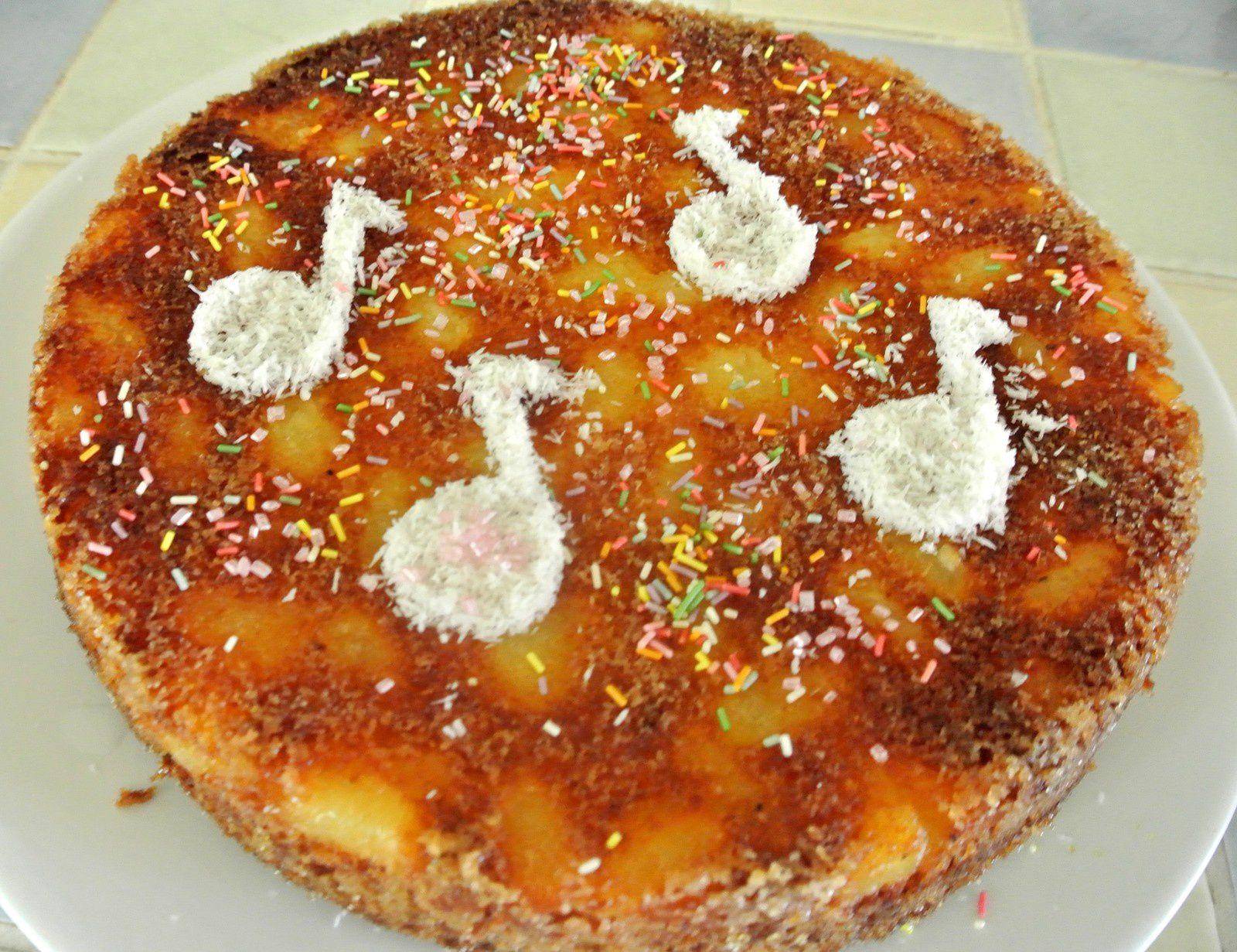 Gâteau Noix de coco/Ananas