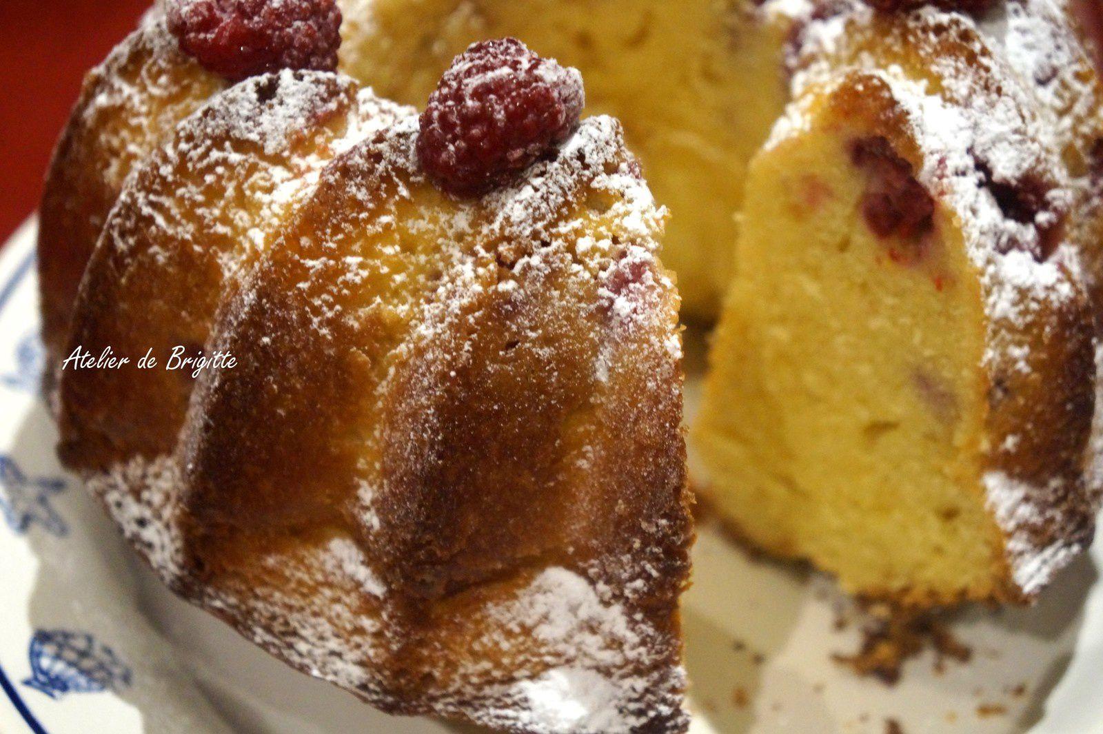 Bundt Cake à la framboise