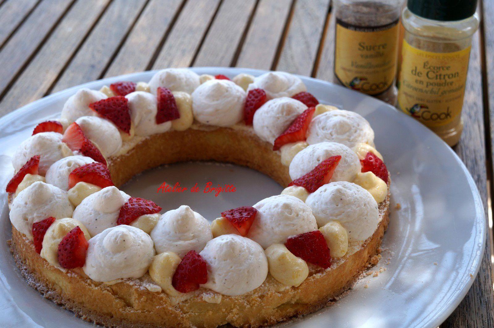 Tarte fraises façon Lenôtre pour les Mamans