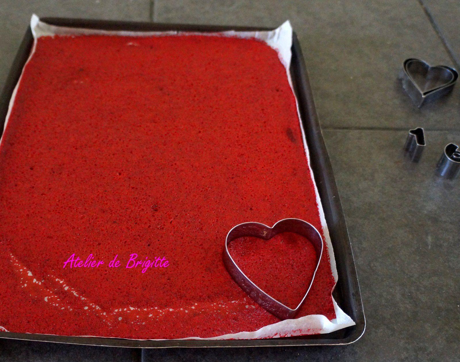 Tuiles de fraises pour déco