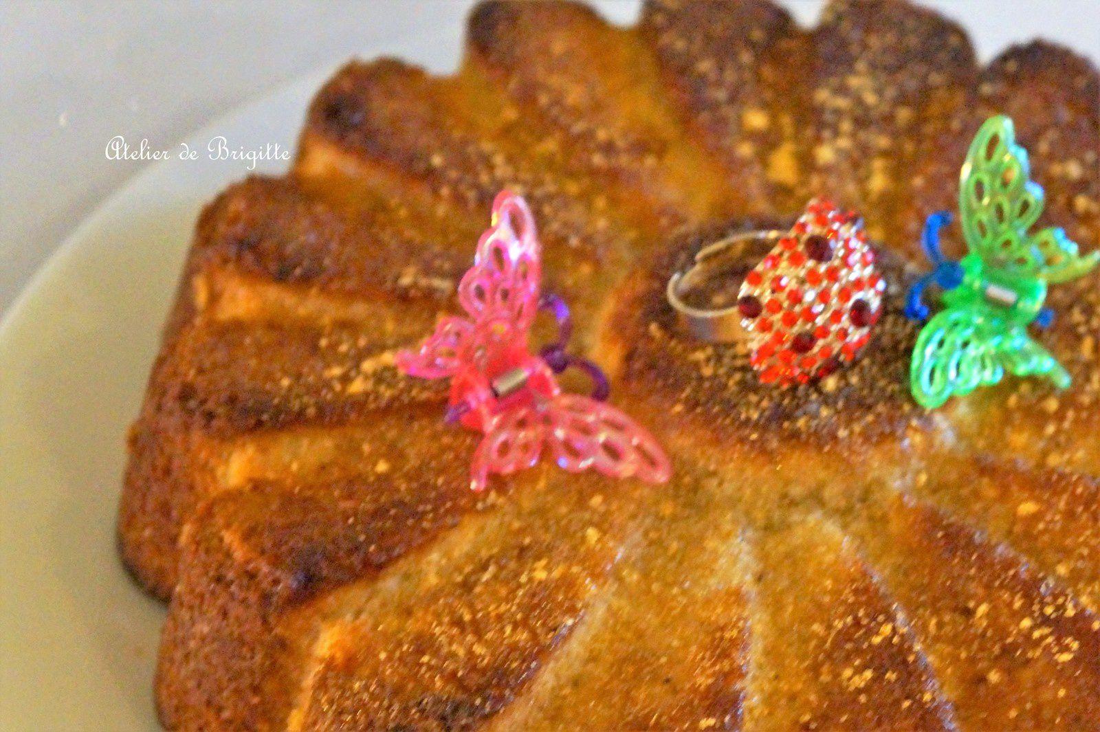 Le cake d'Amour de Peau d'Ane (recette Dalloyau)