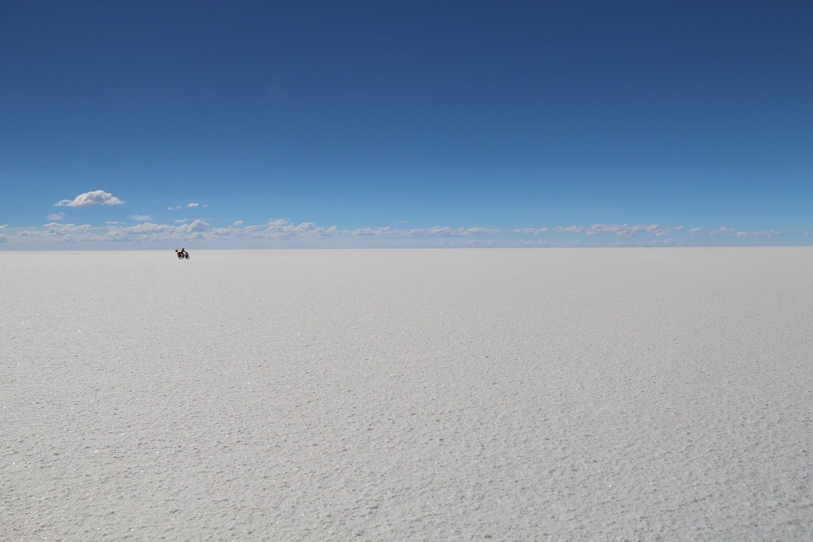 Derniers kilomètres en Bolivie