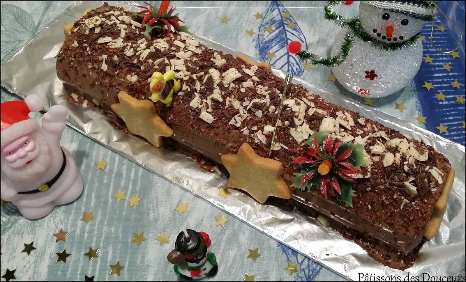 Un Biscuit léger pour un gâteau roulé ou une bûche de Noël