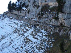 Croix de l'Alpe (grande boucle par le Pas de la Mort)
