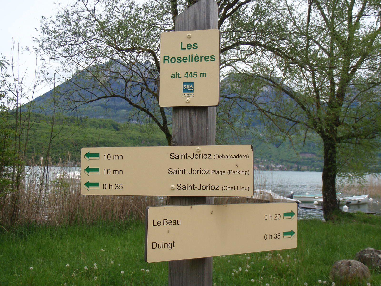 Lac d'Annecy: Sentier des Roselières (St Jorioz&gt&#x3B;&gt&#x3B;&gt&#x3B;Duingt)