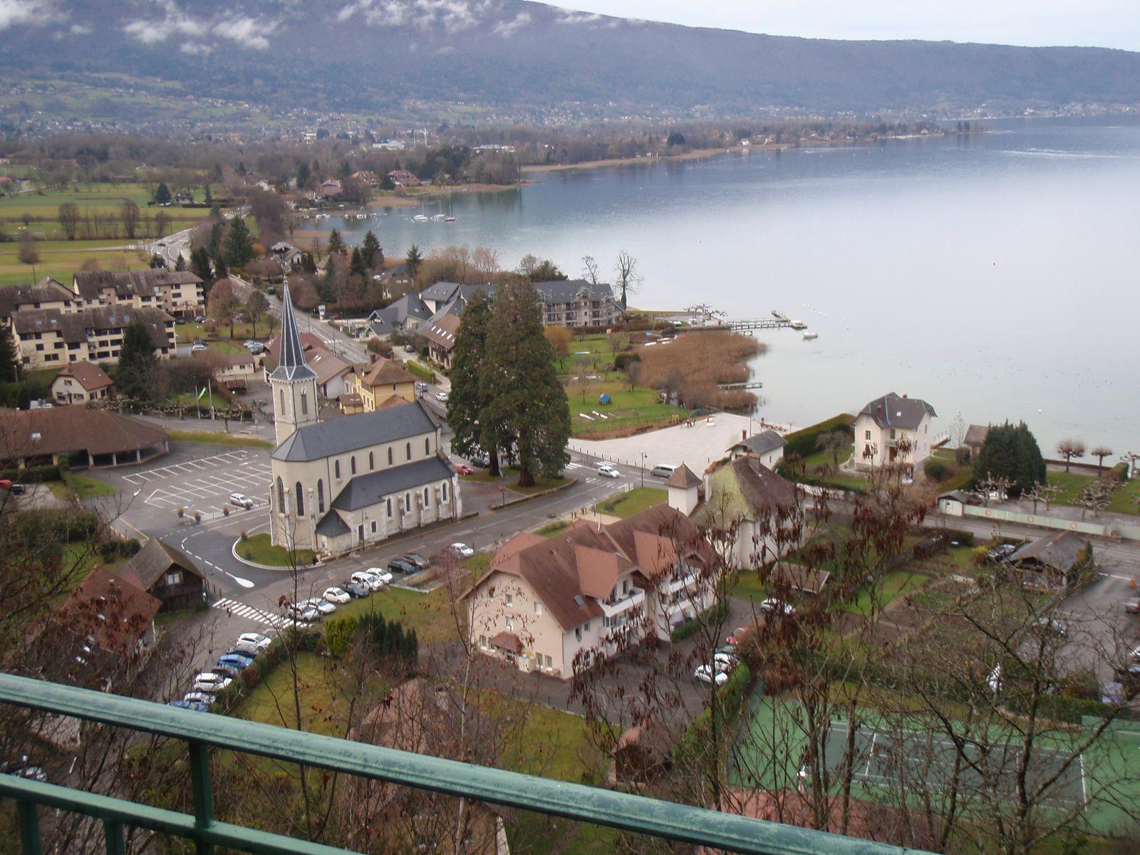 Taillefer de Duingt: Circuit de Duingt au village des Maisons