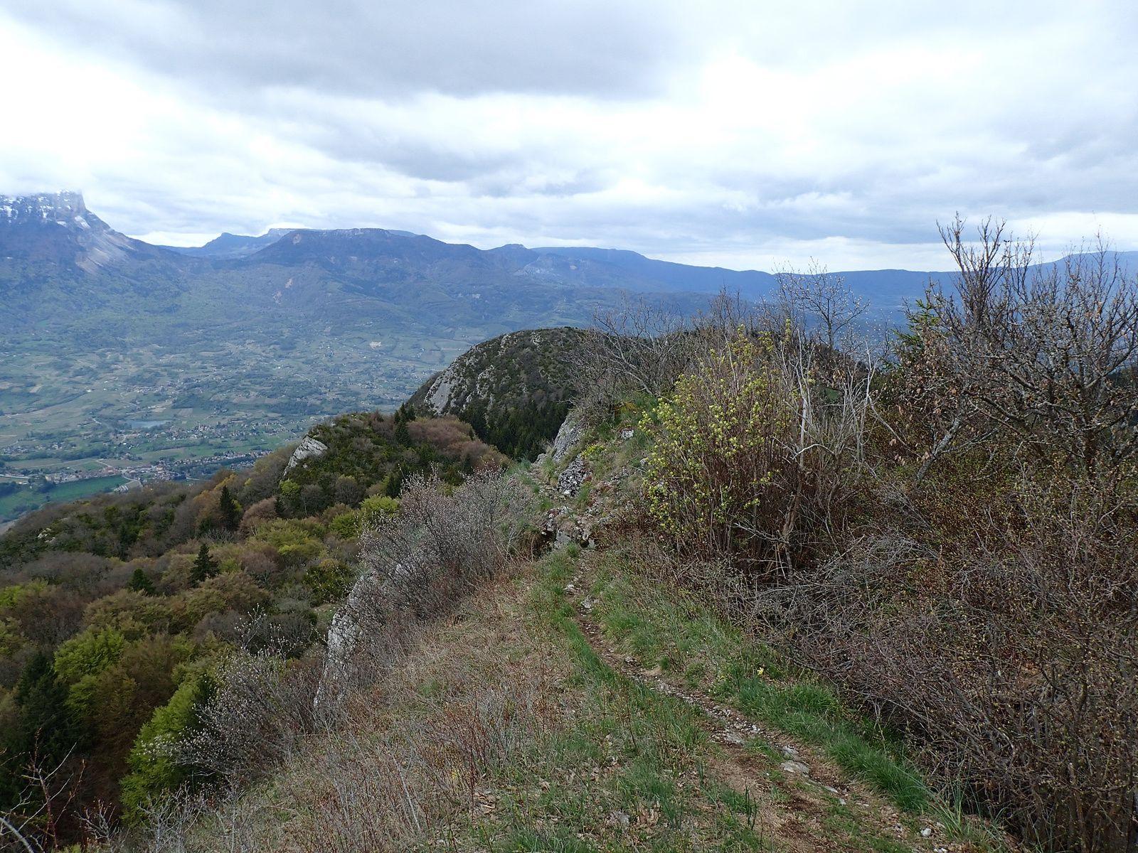 Roche du Guet: Traversée E>>>W, depuis Montmélian (1/2)