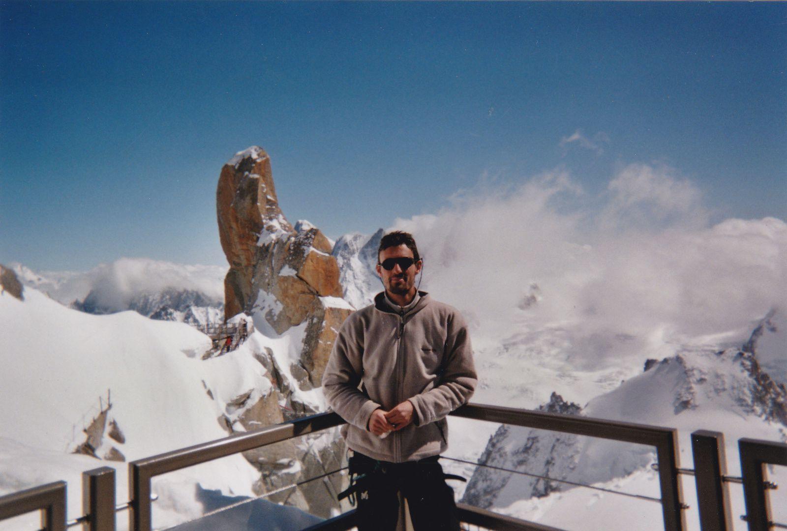Aiguille du Midi: Arête des Cosmiques