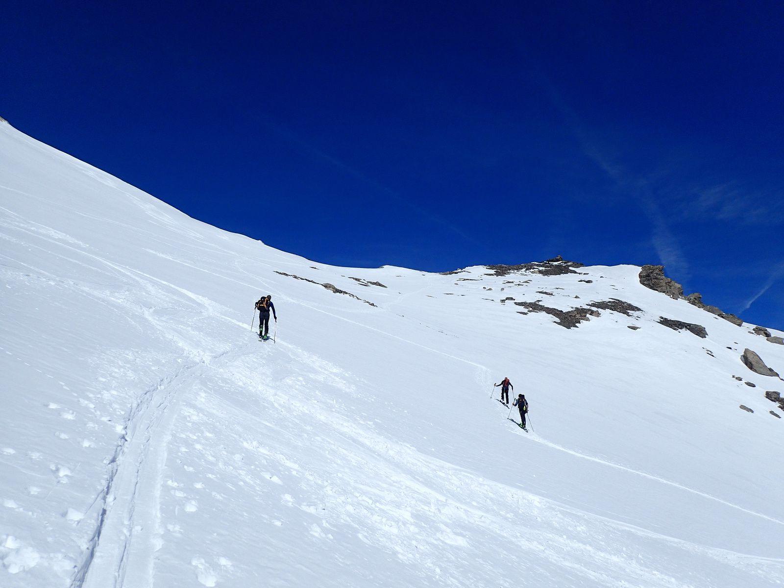 Punta Nera - L'Argentier: En boucle Punta Bagna&gt&#x3B;Vallon de la Roue 1/2