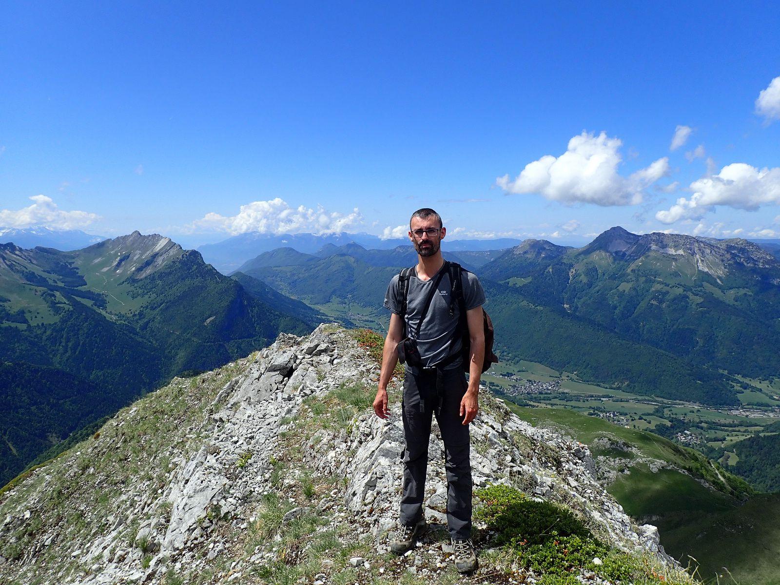 Pointe d'Arcalod: Depuis Précherel Via Très le Mollard et Mont de la Coche 1/2