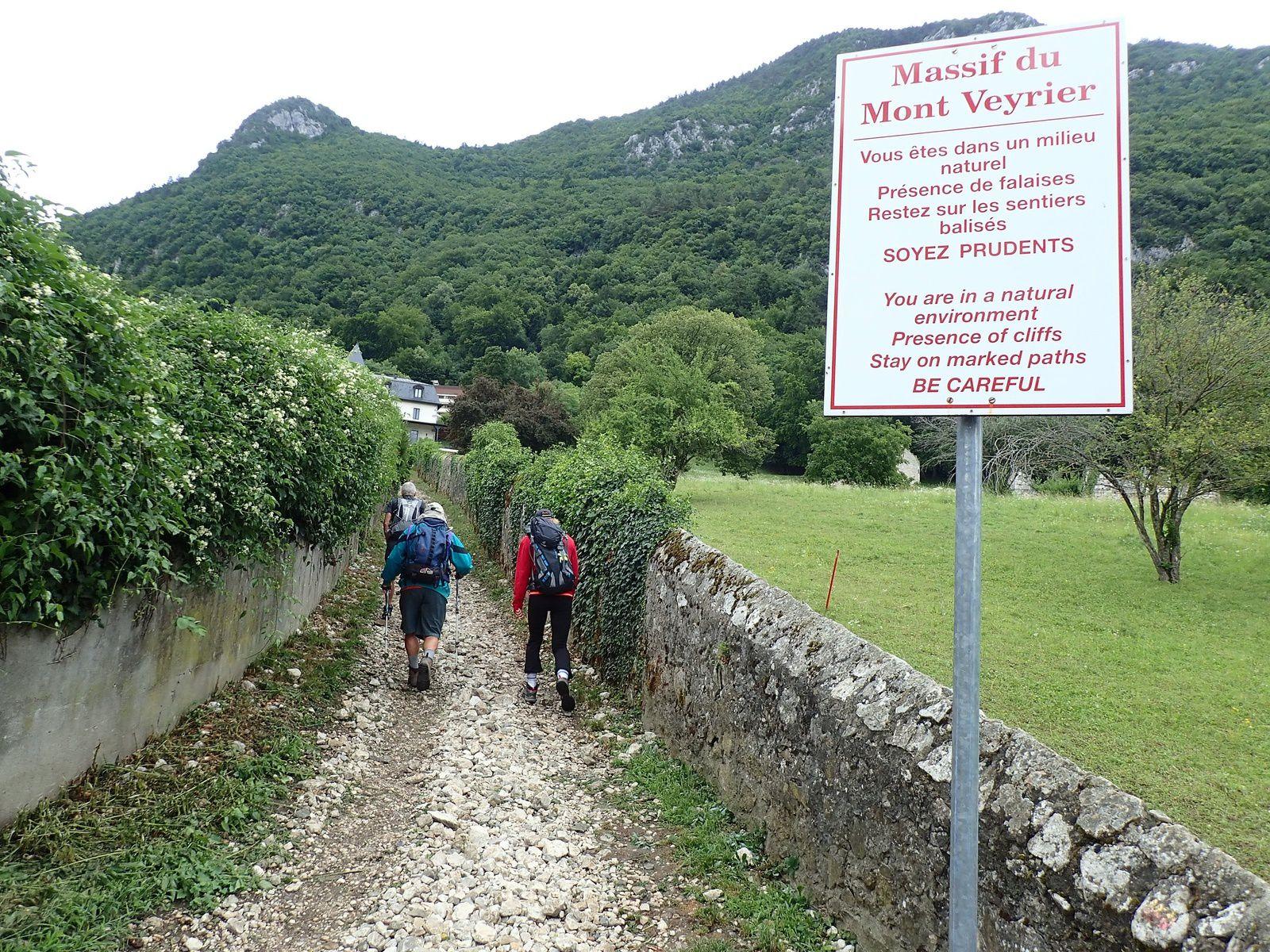 Mont Veyrier + Mont Baron: Traversée des crêtes (Depuis le Petit-Port)