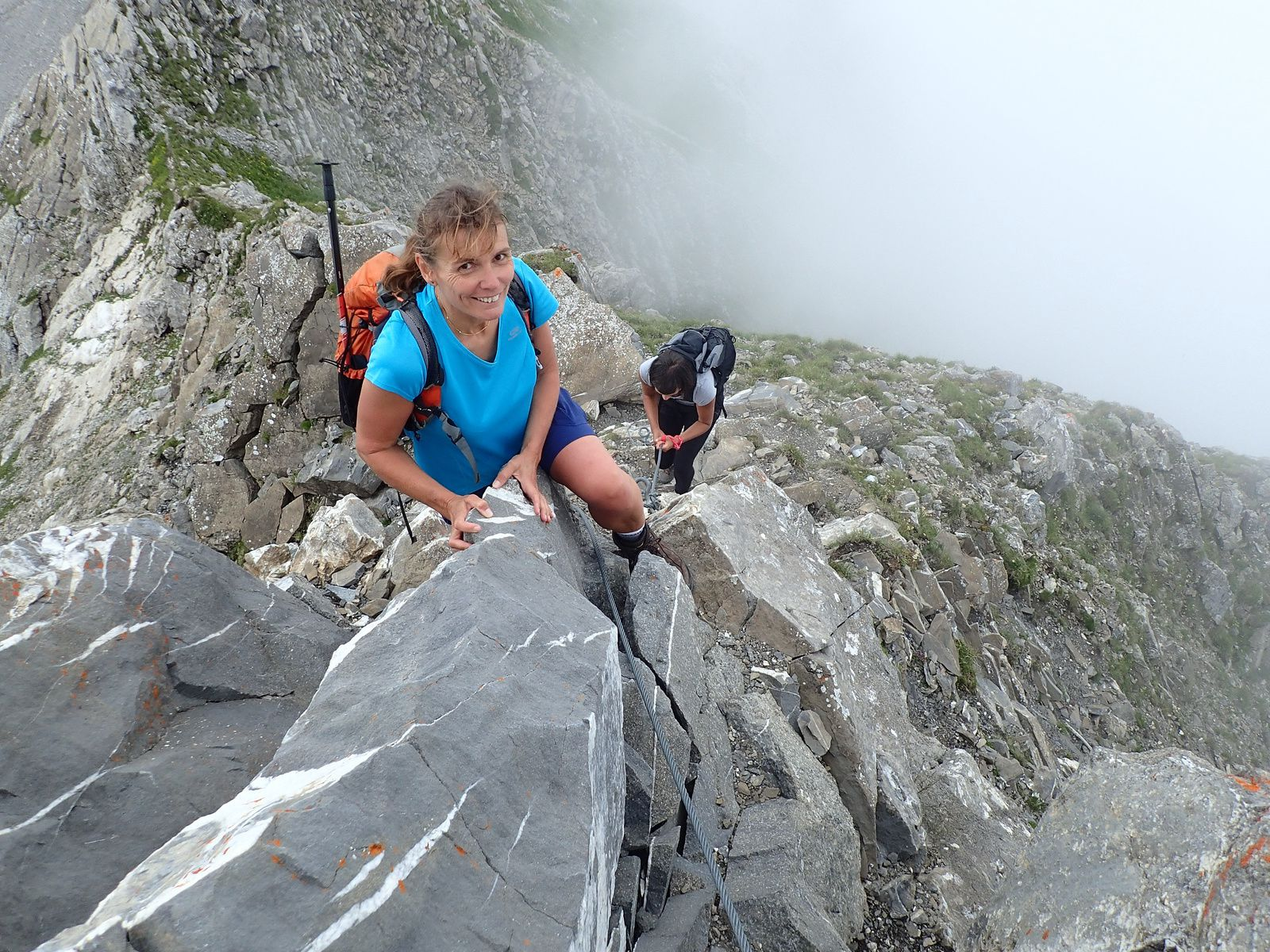 Les Hauts-Forts: Traversée depuis le Col de la Joux Verte1/2