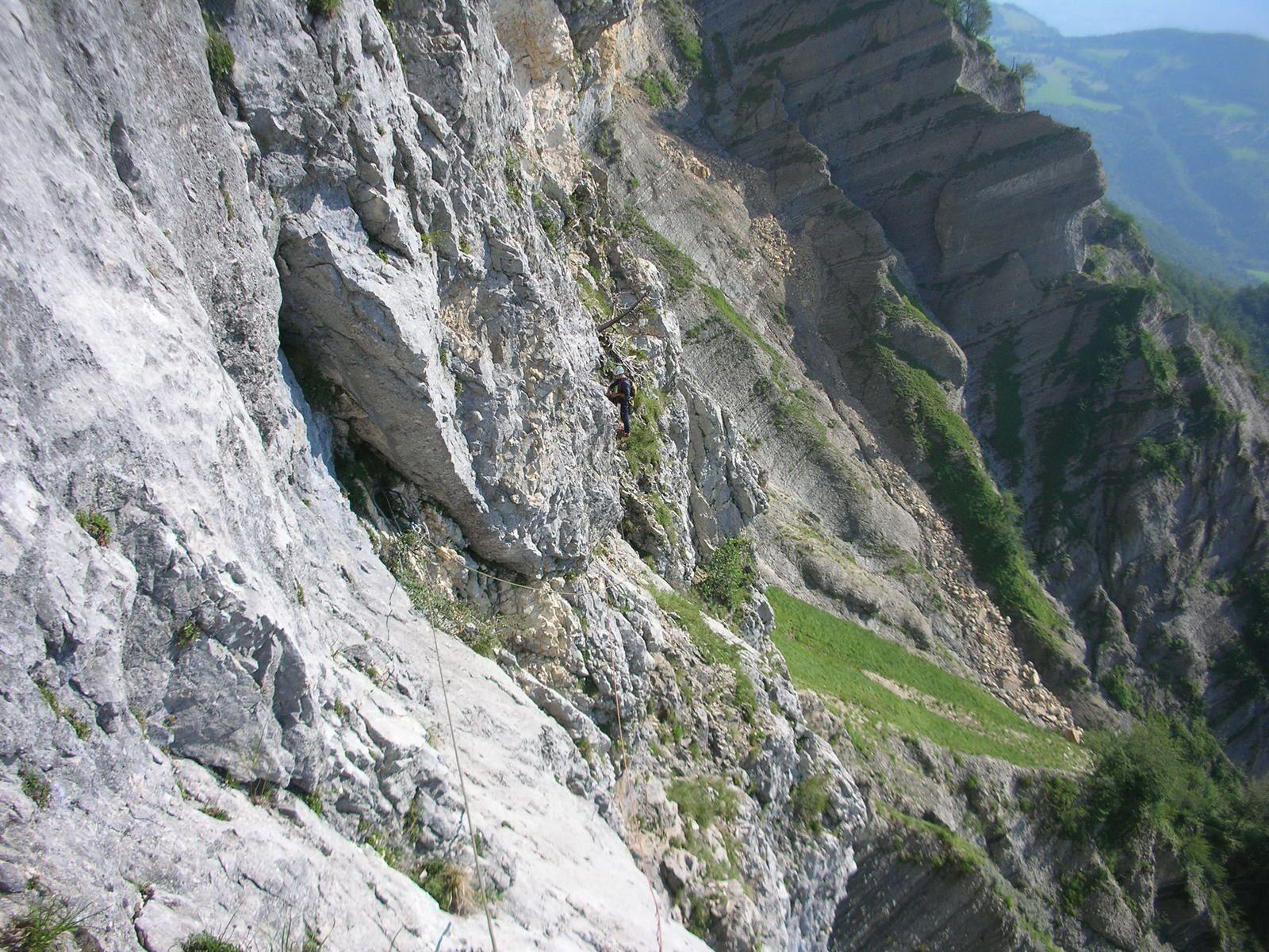 Grand Manti: Voie de la Rampe