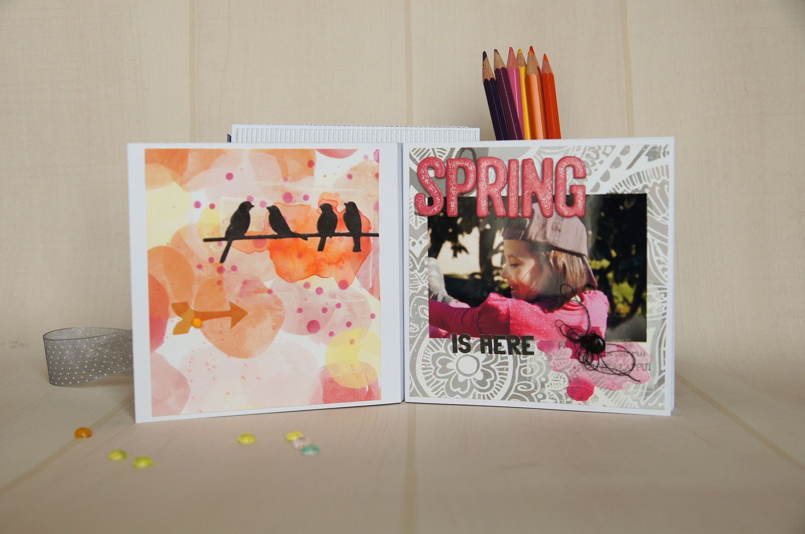 Mini Album{Kit de Somni} Voilà le printemps