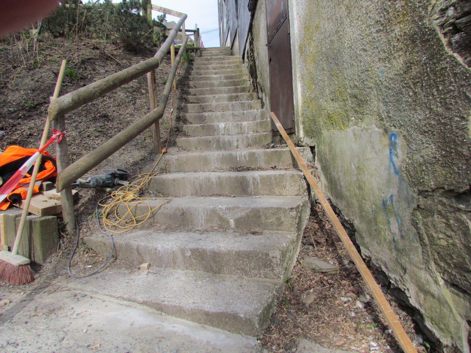 Réfection d'escaliers