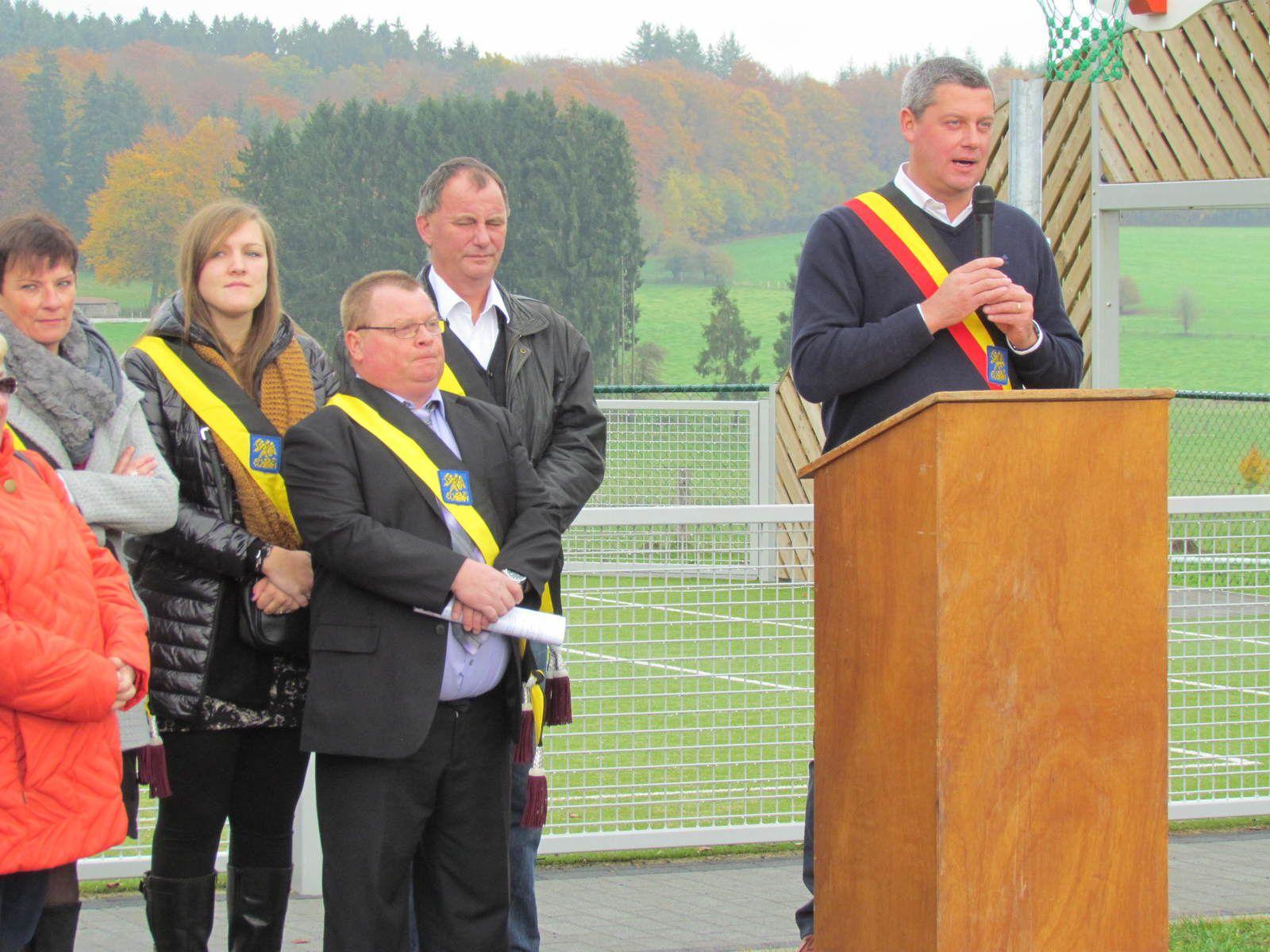 Inauguration Aire de sports de Tronquoy