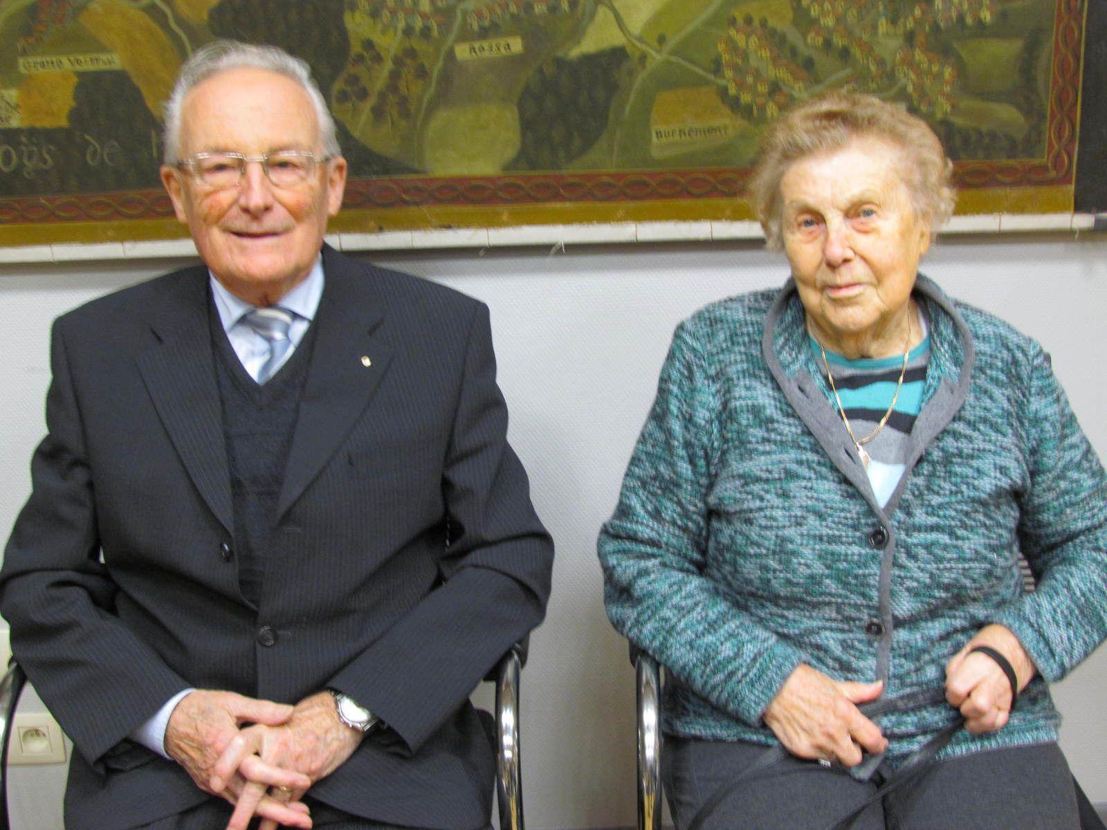Emile Guiot et Denise Sauboin