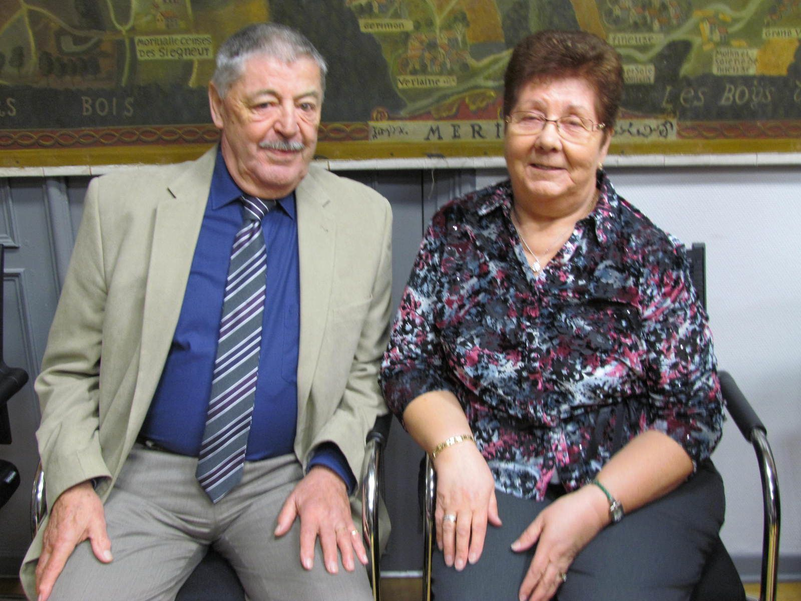 Pierre Georges et Lydie Peiffer