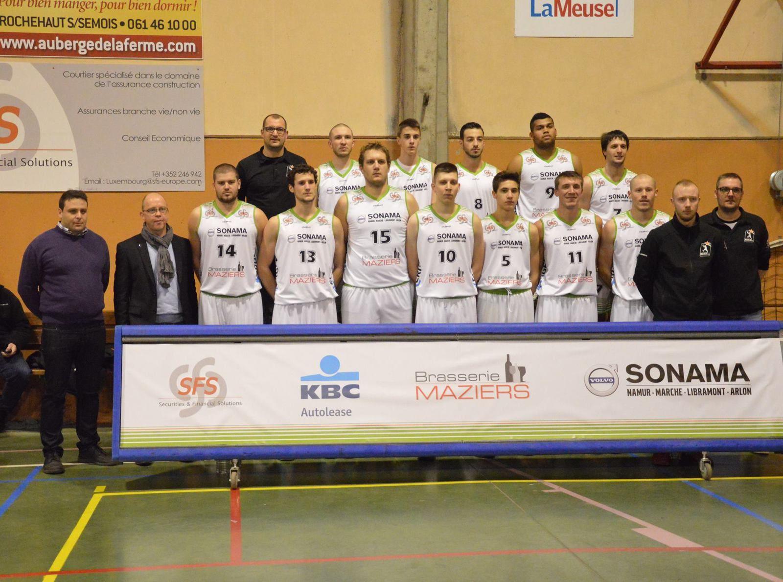 BCCA 95 - Spirou Charleroi B 92