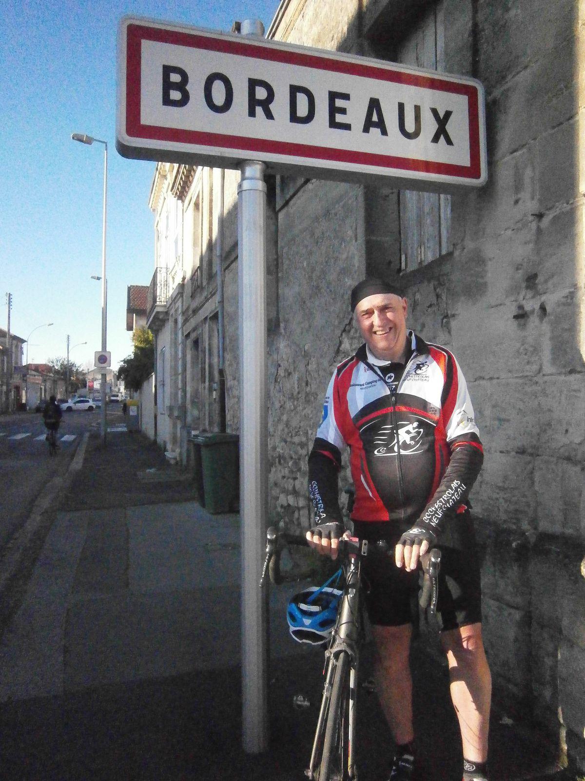 Arrivé à Bordeaux