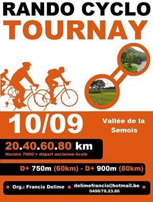 Rando à Tournay