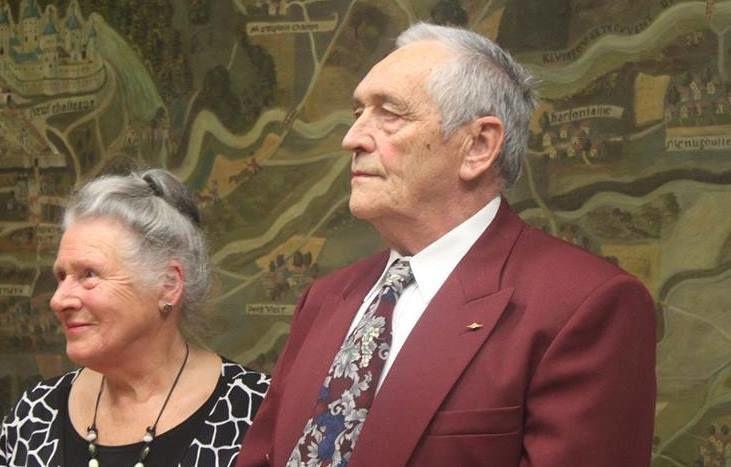 Jean HAAGER et Madeleine MANAND