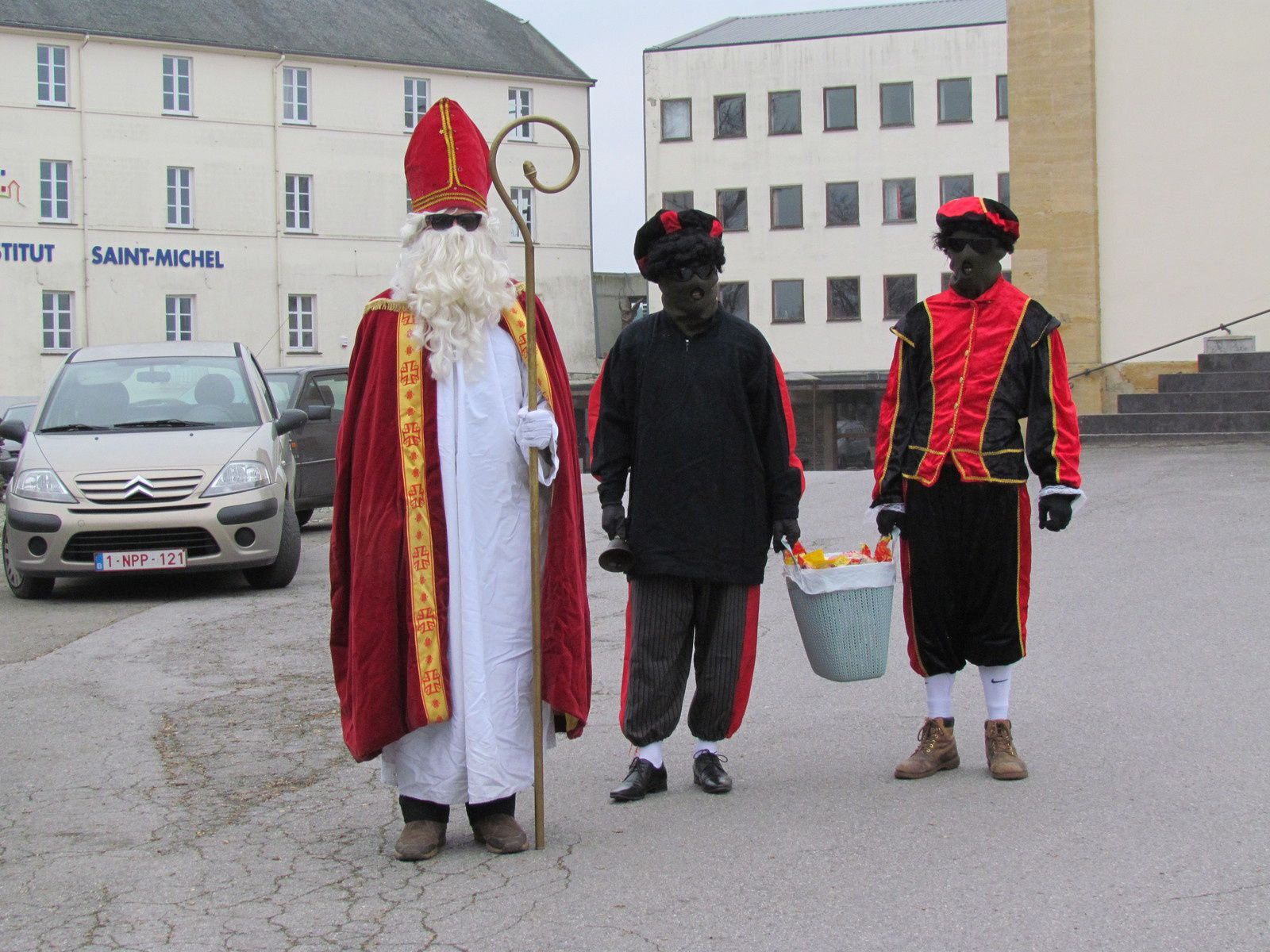 Visite de St Nicolas