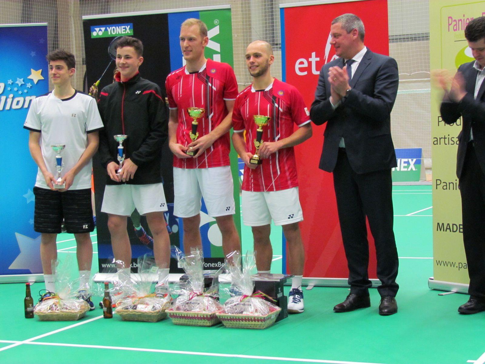 Championnats de badminton Elites 2017