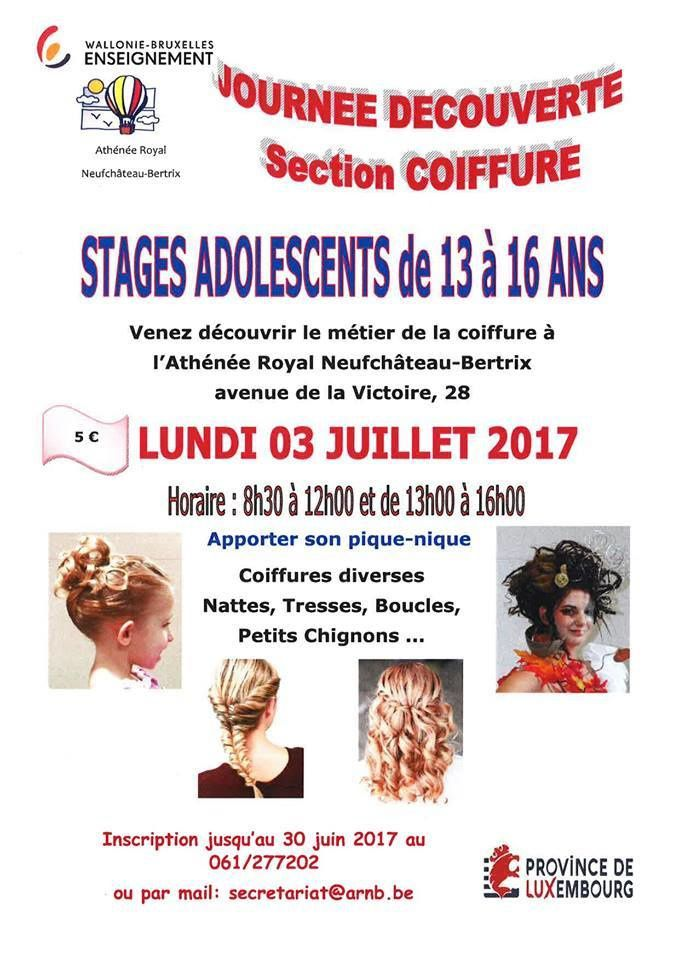 Stage coiffure