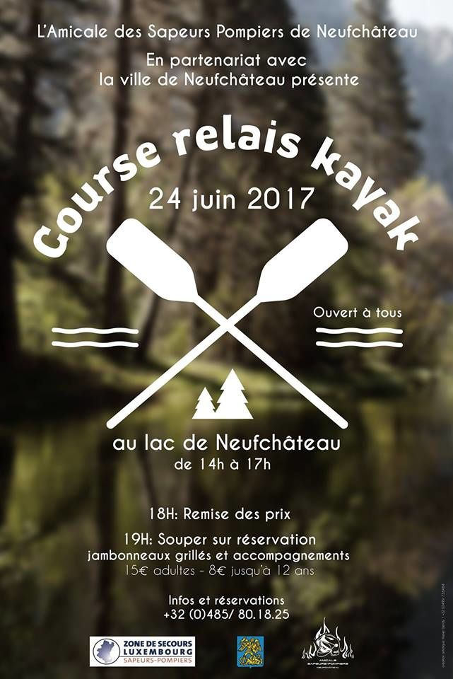 Course relais kayak
