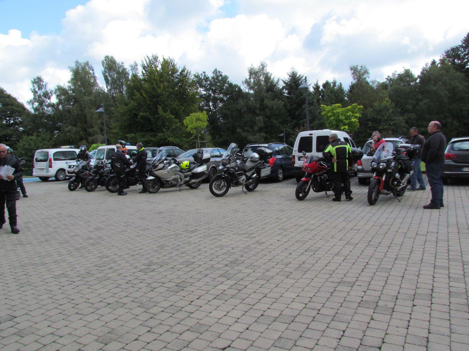 Randonnée motos