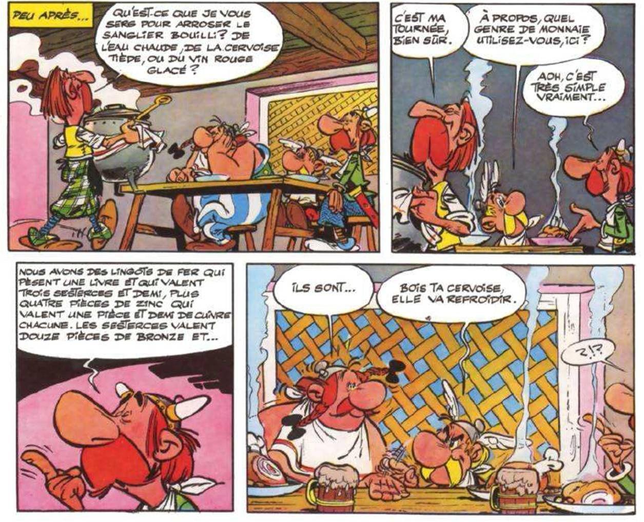 Vraiment simple, indeed... (Astérix chez les Bretons - Goscinny et Uderzo - Ed. Dargaud - 1966)