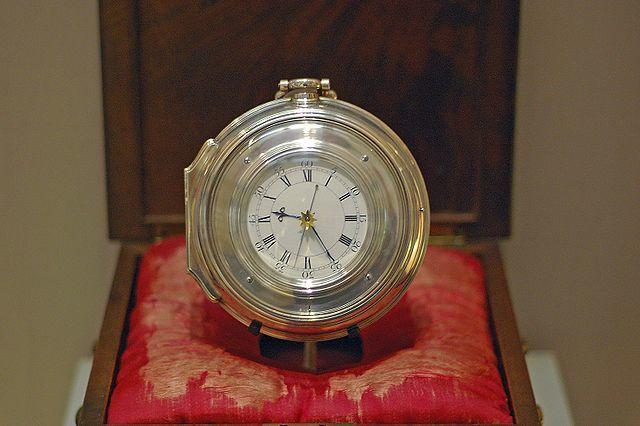 Chronomètre n°5 d'Harrison 1772 - Photo Racklever