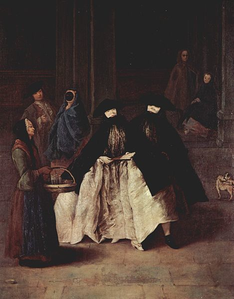 La Vendeuse d'essences, Pietro Longhi (1702 - 1785), vers 1756