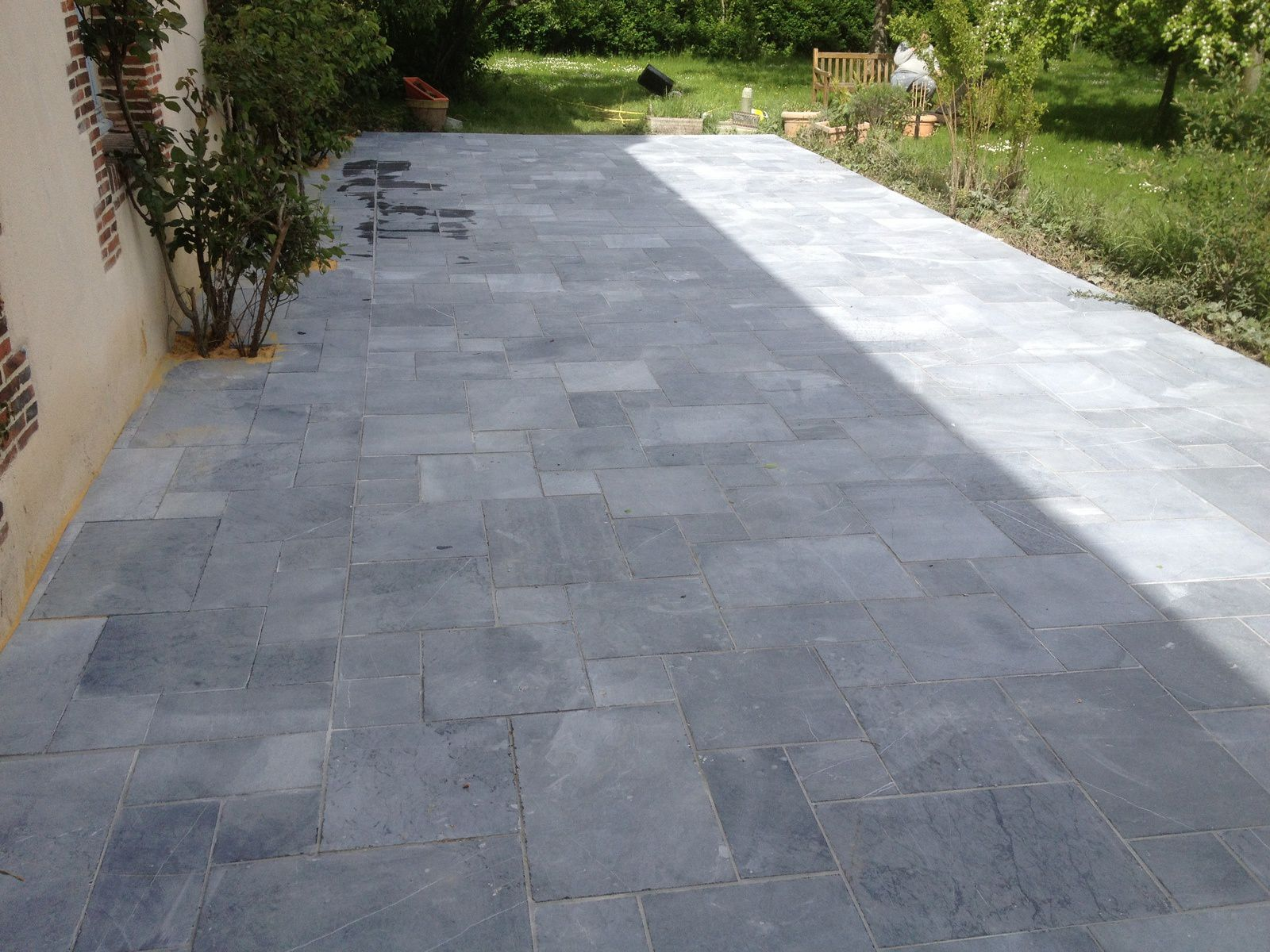 Pose carrelage terrasse pose carrelage terrasse for Poser carrelage terrasse dalle beton
