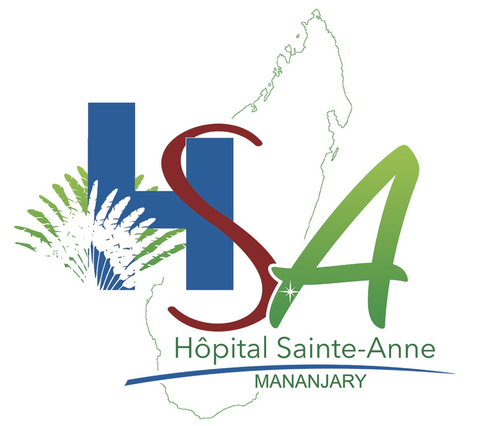Logo officiel de l'Hôpital Ste Anne
