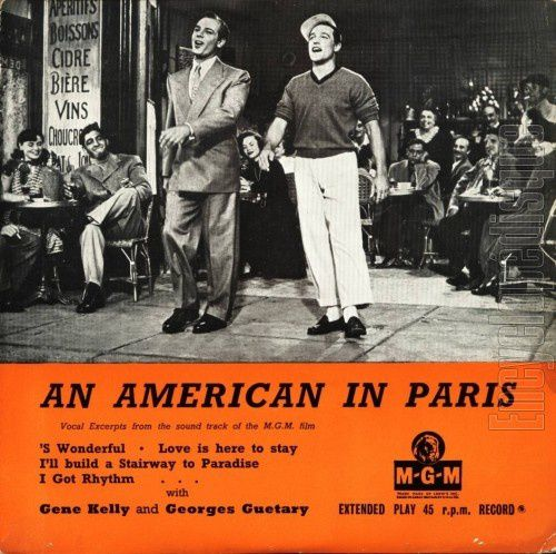 AN AMERICAN IN PARIS (Un américain à Paris) – Vincente Minnelli (1951)