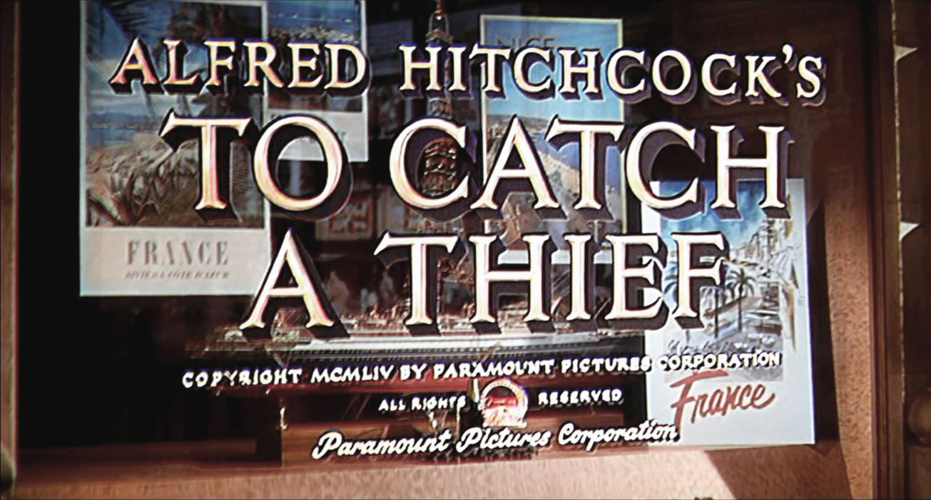 TO CATCH A THIEF (La main au collet) – Alfred Hitchcock – 1955