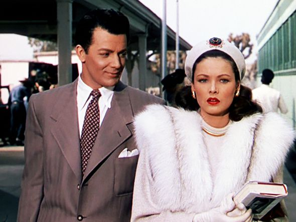 LEAVE HER TO HEAVEN (Péché Mortel) – John M. Stahl (1945) – Gene Tierney – Cornel Wilde