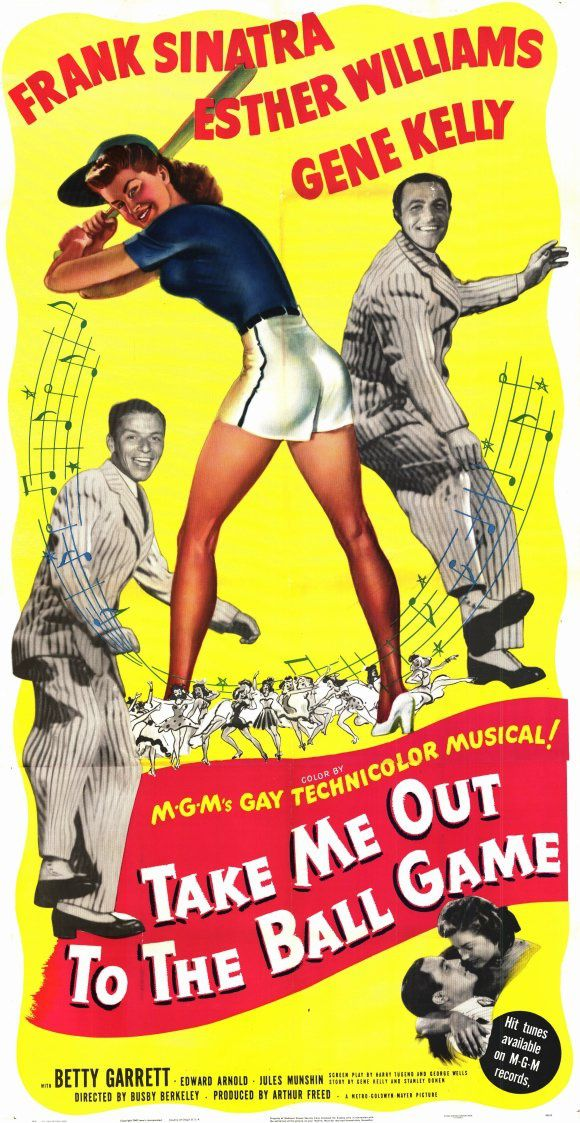 MATCH D'AMOUR (Take me out to the ball game) -  1949  -  Busby Berkeley - Gene Kelly, Esther Williams, Frank Sinatra