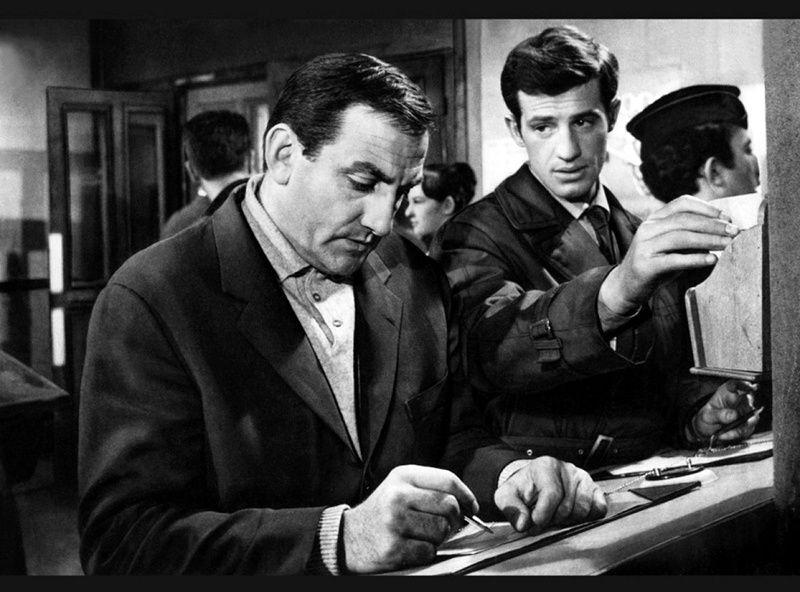 Classe tous risques - Claude Sautet (1960) avec Lino Ventura, Jean-Paul Belmondo, Sandra Milo et Marcel Dalio.