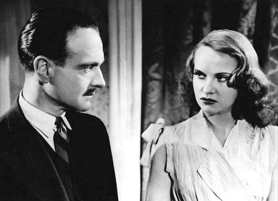 Pierre Fresnay et Ginette Leclerc dans Le Corbeau, d'Henri Georges Clouzot (1943)
