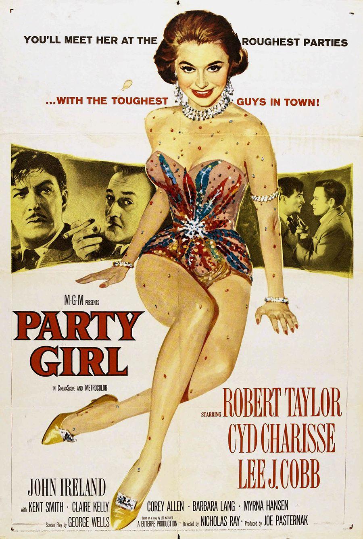 PARTY GIRL (Traquenard) - Nicholas Ray (1958) – Robert Taylor, Cyd Charisse, Lee J. Cobb
