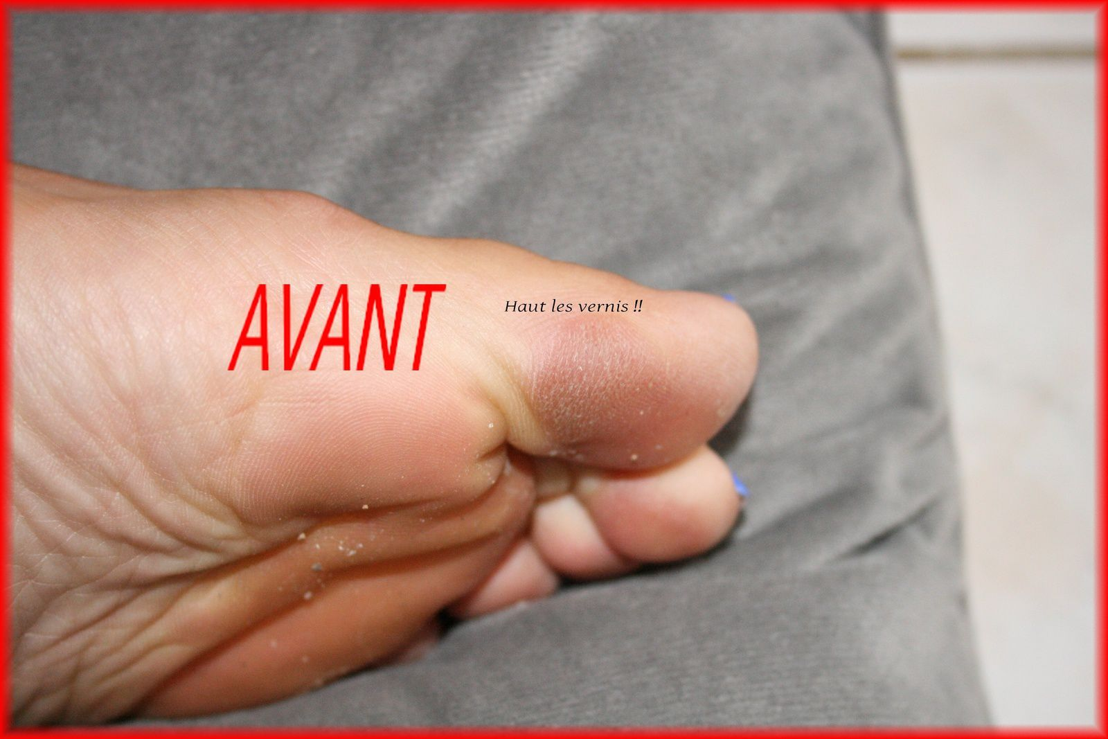 Baby foot....mes pieds ont rajeunis!!!