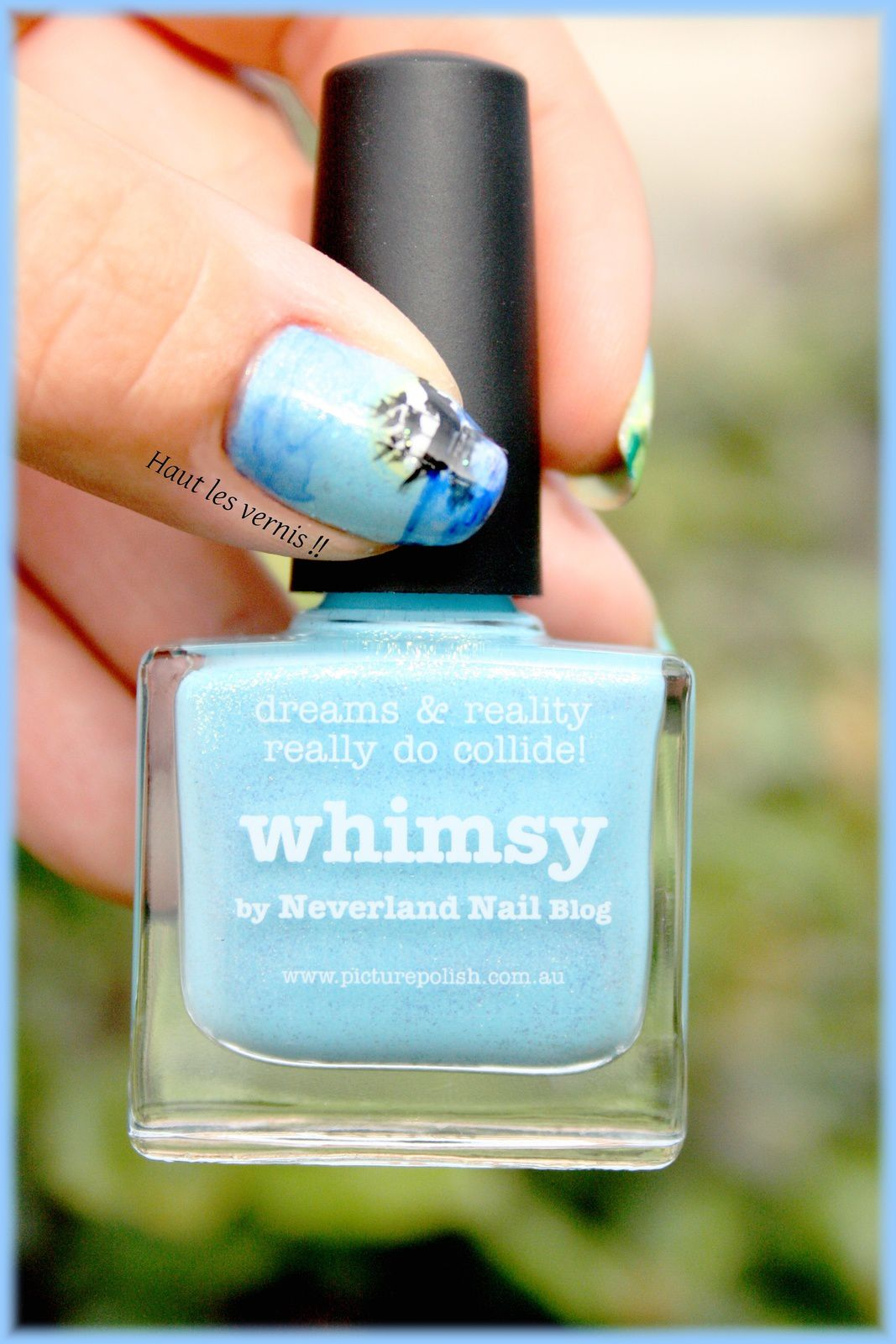 Whimsy picture polish...Neverland...