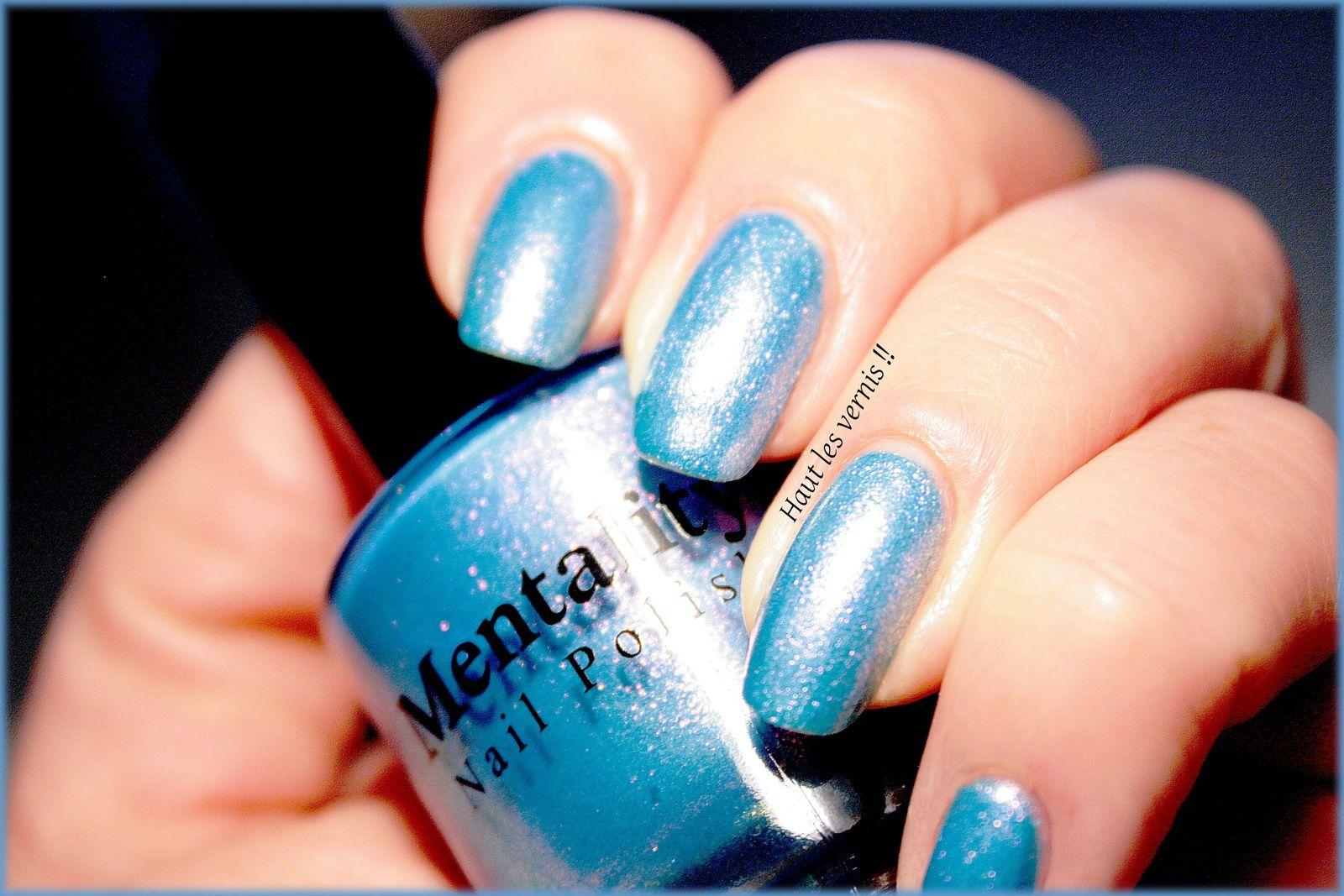 Mentality nail polish..Gala, de plus en plus beau!