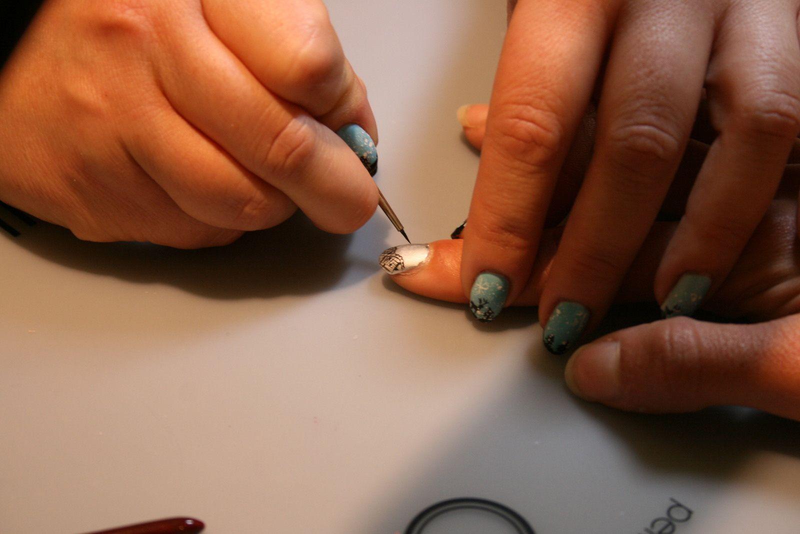 Sephora soirée jeune..Mon bar à nail art