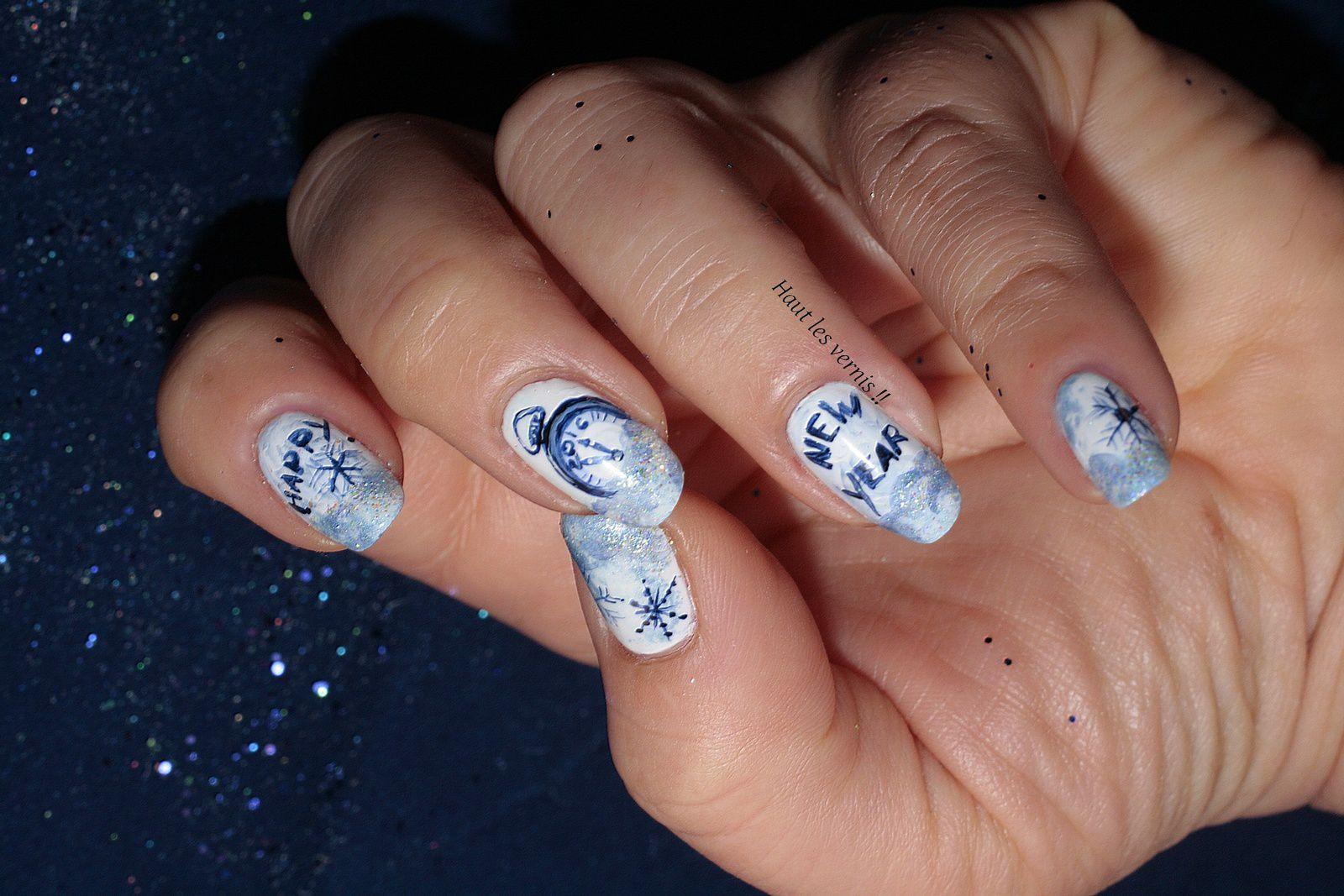Nail Art New Year!!!