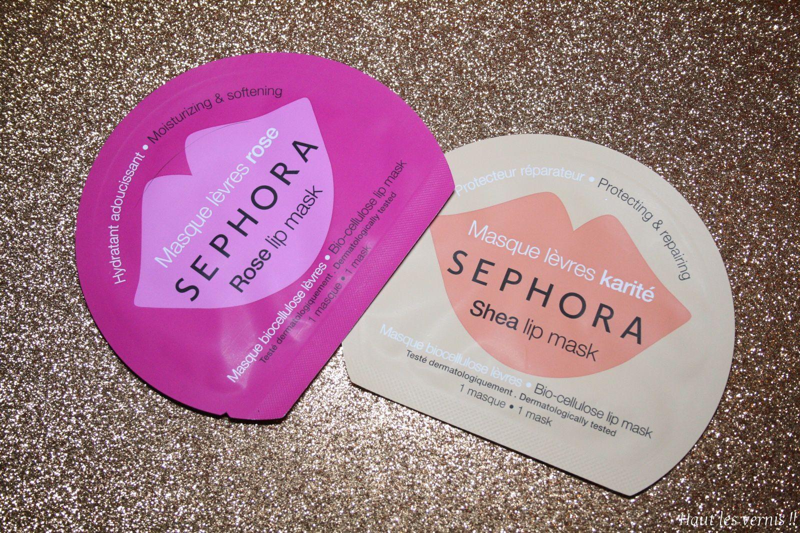 Sephora, nouveautés soins spécifiques...
