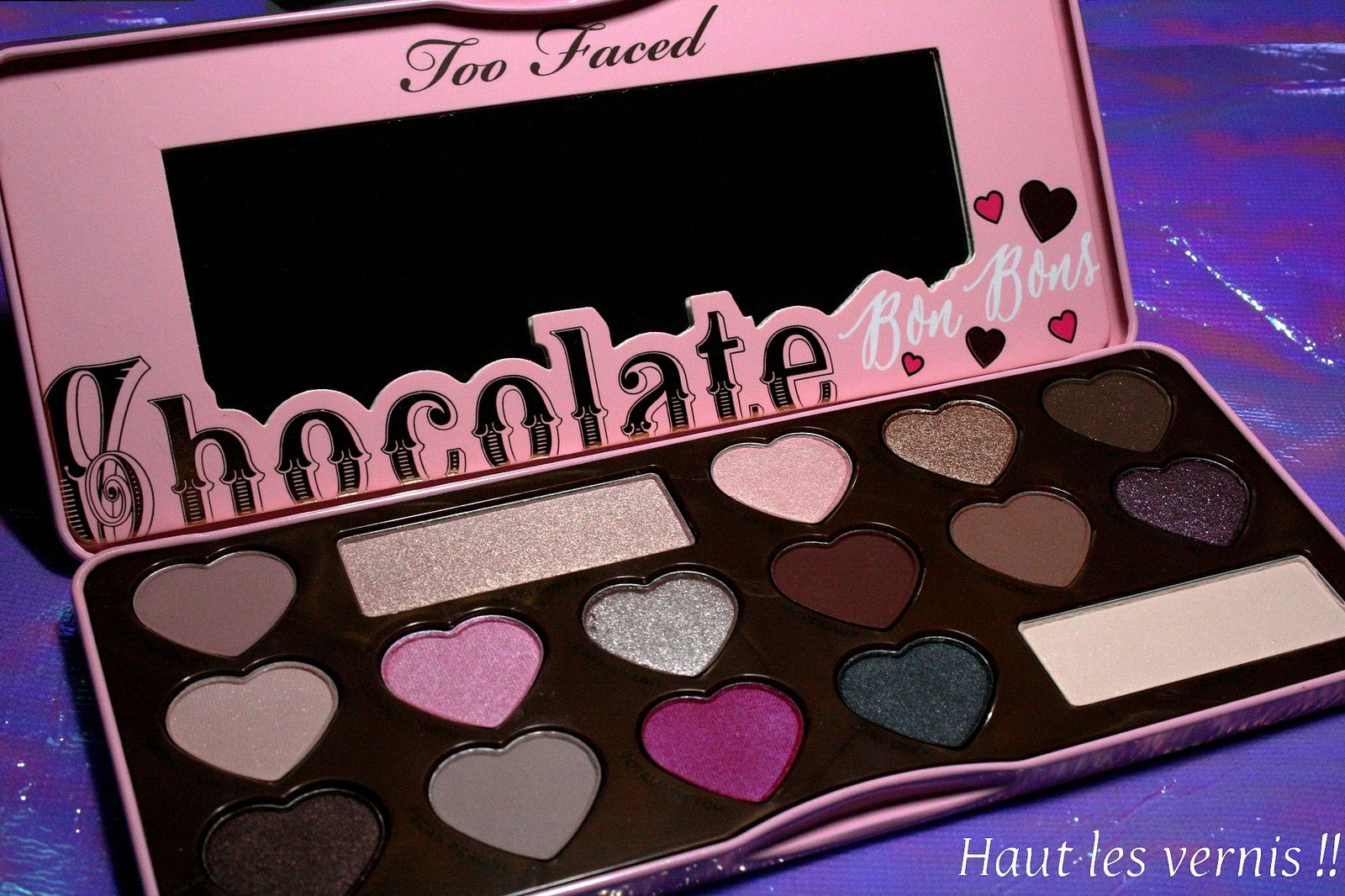 Chocolate Bonbons Too Faced....C'est demain!!